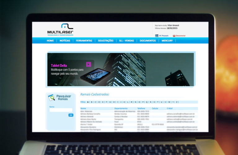 intranet-multilaser